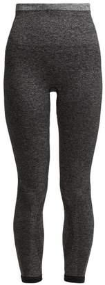 Lndr - Tone Cropped Leggings - Womens - Dark Grey