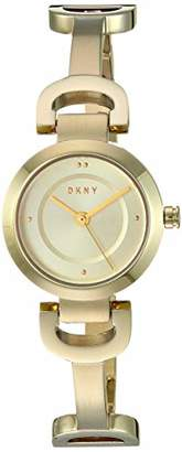 DKNY Women's City Link Quartz Watch with Stainless-Steel-Plated Strap