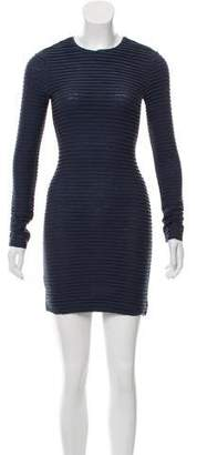Kimberly Ovitz Ribbed Mini Dress