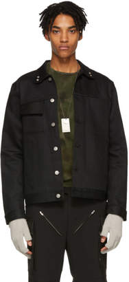 1017 Alyx 9SM Black Denim Thorn Jacket