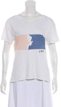 Current/Elliott Graphic Short Sleeve T-Shirt White Graphic Short Sleeve T-Shirt