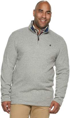 Izod Big & Tall Quarter-Zip Fleece
