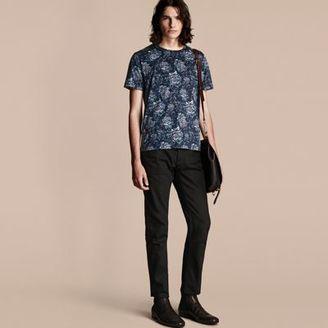 Burberry Peony Rose Print Cotton T-Shirt $350 thestylecure.com