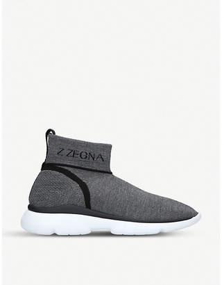 Ermenegildo Zegna Sprinter Sock Technomerino trainers