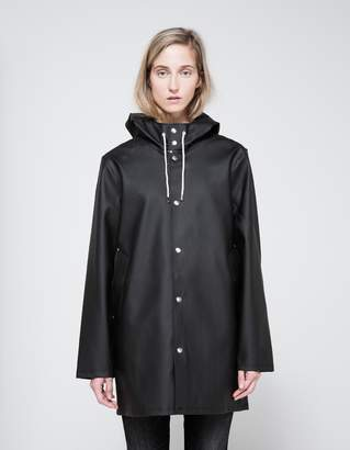 Stutterheim Stockholm Rain Coat in Black