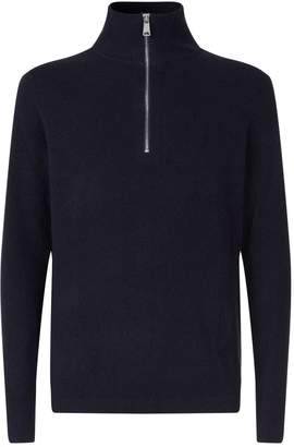 Burberry Zipped Cashmere Sweater