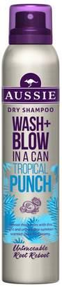 Aussie Wash + Blow Tropical Punch Dry Shampoo 180ML