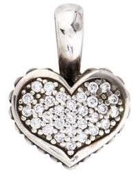 Lagos Diamond Heart Pendant