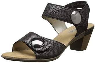 Rieker Women's 67369-45 Open Toe Sandals,42 EU