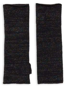 Lord & Taylor Cashmere-Blend Knit Fingerless Gloves