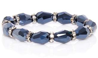 Quiz Navy Stretch Bracelet