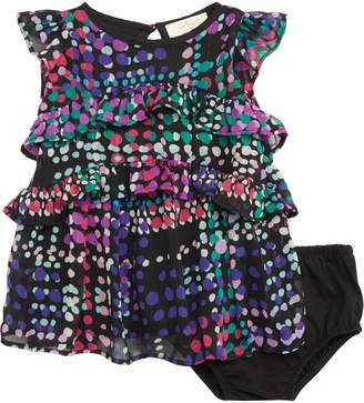 Kate Spade Tiered Ruffle Dress
