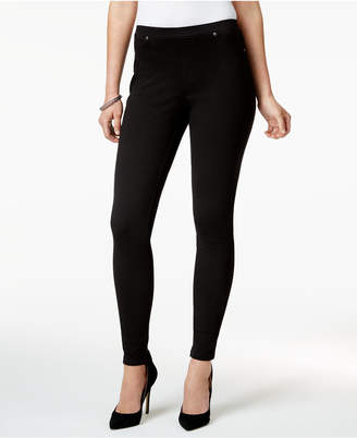 Style&Co. Style & Co Twill Pull-On Leggings, Created for Macy's