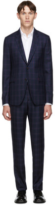 Paul Smith Wool Check Suit