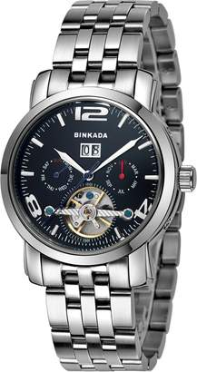 Gents BINKADA Self-motion Dial Men's Wrisr Watch -2