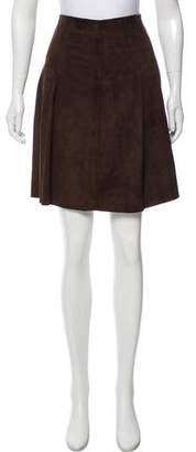 Joseph Goatskin Knee-Length Skirt