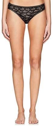 Eres Women's Plume Moineau Lace Bikini Briefs - 1001-Noir