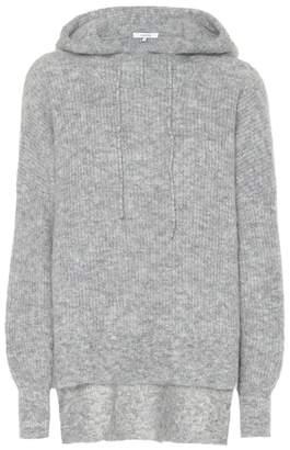 Ganni Mohair and wool hoodie