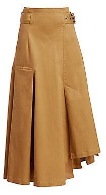 3.1 Phillip Lim Women's Belted Cotton Utility Skirt