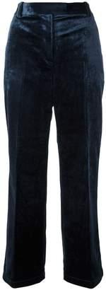 3.1 Phillip Lim cropped velvet trousers