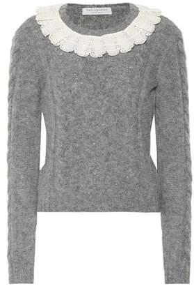 Philosophy di Lorenzo Serafini Alpaca and wool-blend sweater