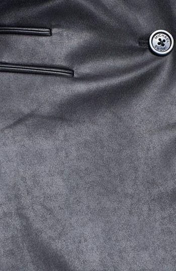 MICHAEL Michael Kors Faux Leather Front Ponte Blazer
