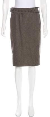 Calvin Klein Knee-Length Wool Skirt