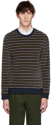 A.P.C. Navy Boxy Sweater
