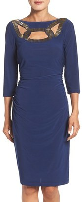 Women's Adrianna Papell Embellished Sheath Dress $130 thestylecure.com