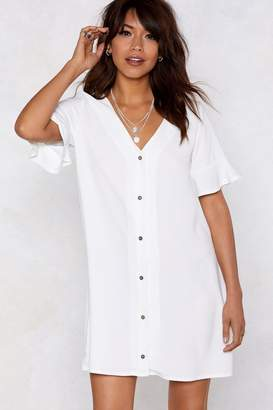 Nasty Gal Late Registration Relaxed Dress