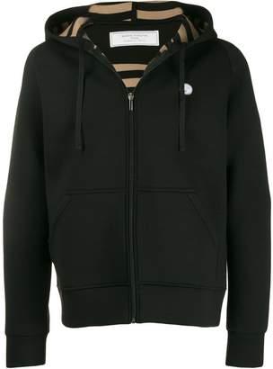 Societe Anonyme zipped hooded jacket