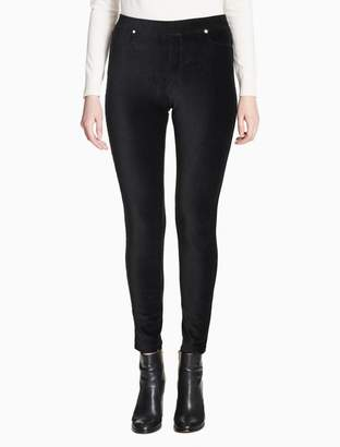 Calvin Klein corded pocket leggings