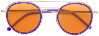 Cutler & Gross round-frame tinted sunglasses