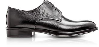 Moreschi Cork Black M Buffalo Leather Derby Shoes