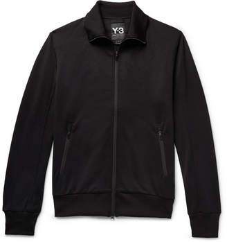 Y-3 Logo-Print Loopback Jersey Track Jacket