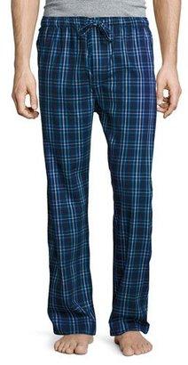 Derek Rose Plaid Flannel Pajama Pants, Navy $105 thestylecure.com