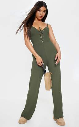 9c5f27abe9fe PrettyLittleThing Green Trousers For Women - ShopStyle UK
