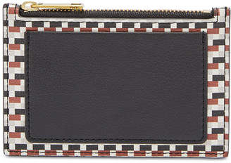 Fossil Shelby Printed Zip Coin Wallet