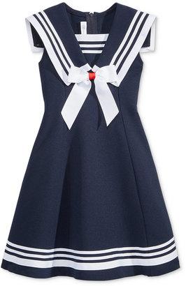 Bonnie Jean Fit & Flare Sailor Dress, Toddler & Little Girls (2T-6X) $52 thestylecure.com