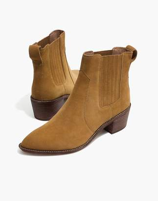 Madewell The Ramsey Chelsea Boot in Suede