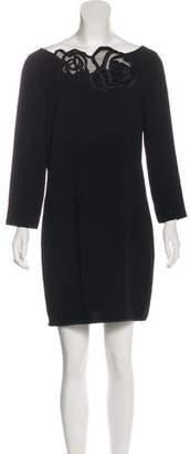 Halston Long Sleeve Shift Dress w/ Tags