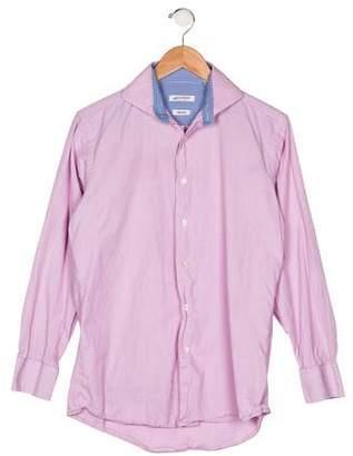 Isaac Mizrahi Boys' Button-Up Shirt