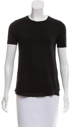 Magaschoni Short Sleeve Cashmere Top w/ Tags