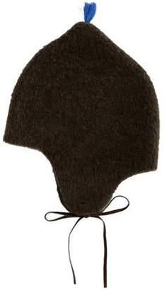 Makie Kids' Knit Tassel-Accented Hat