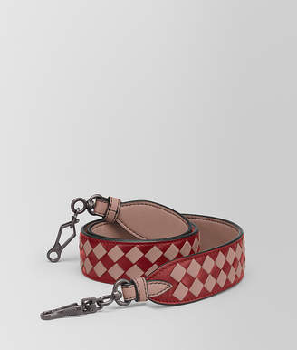 Bottega Veneta STRAP IN INTRECCIATO CHECKER