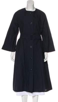 Lemaire Collarless Long Coat