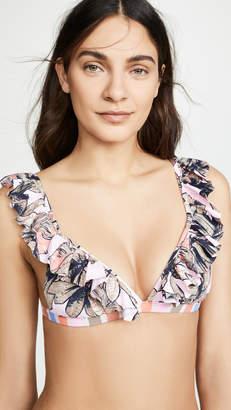 Maaji Laranja Frills Bikini Top