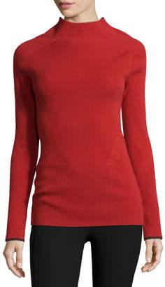Rag & Bone Natasha Ribbed Cashmere Sweater, Saffron
