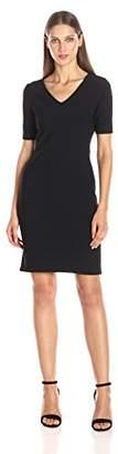Julia Jordan Women's Short Sleeve Rio Knit Body Con Shift Dress $21.87 thestylecure.com