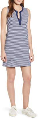 Vineyard Vines Sankaty Stripe Stretch Knit Shift Dress